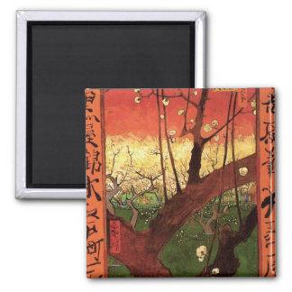 Japonaiserie Plum Tree Hiroshige -Vincent van Gogh Magnets