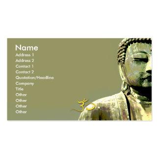 Japonés Buda de PixDezines Tarjetas De Visita