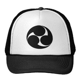 Japonés del escudo de la familia gorra