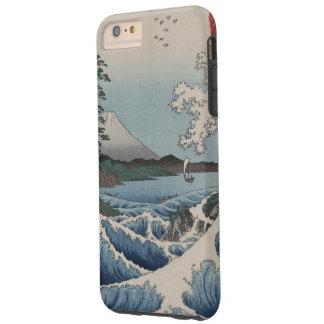 Japonés del vintage el mar de Satta Funda Para iPhone 6 Plus Tough