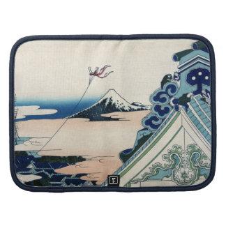 Japonés el monte Fuji Cloudscape del vintage Organizadores