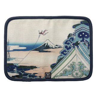Japonés el monte Fuji Cloudscape del vintage Planificadores