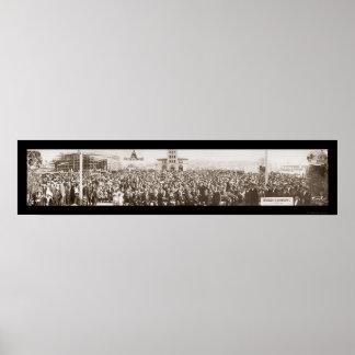 Japonés en la foto 1914 de la exposición de San Fr Posters