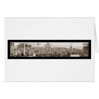 Japonés en la foto 1914 de la exposición de San Fr Felicitación