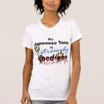 Japonés extremadamente travieso Tosa Camisetas