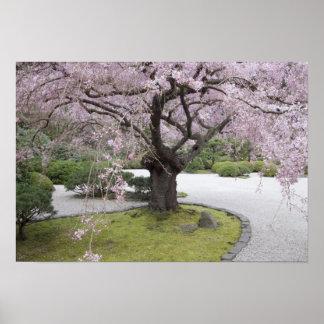 Japonés Gardern, Portland, Oregon de Portland, Poster