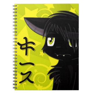 Japonés Keith Libreta Espiral