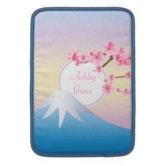 Japonés Umenohana de la primavera de los flores de Funda Para Macbook Air