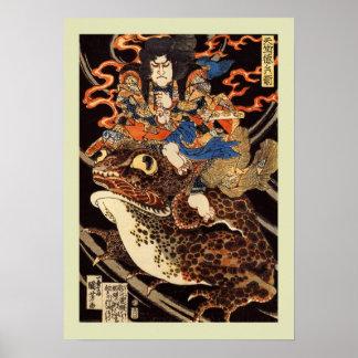 Japonés Woodblock Impresiones