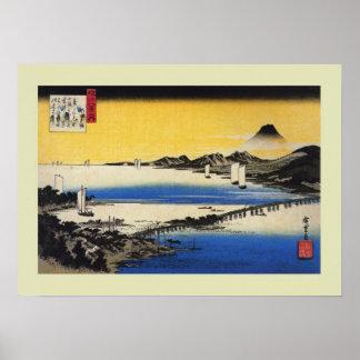 Japonés Woodblock Posters