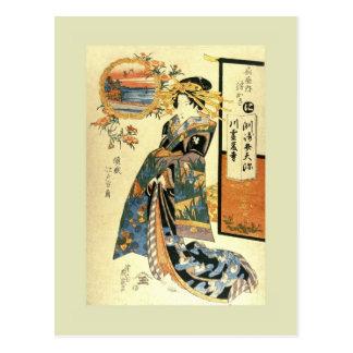 Japonés Woodblock Tarjetas Postales