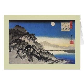 Japonés Woodblock Tarjetón