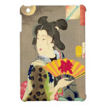 Japonés Woodblock Ukiyo-e del geisha del claro de