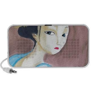 japonesae geisha speaker system