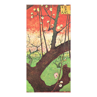 Japonese tree (after Hiroshige) by van Gogh Card