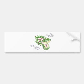 Japonias dragon bumper sticker