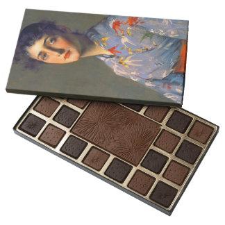 Japonisme Portrait 1890 45 Piece Box Of Chocolates