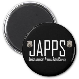 JAPPS:  Jewish American Princess Patrol Service Magnet