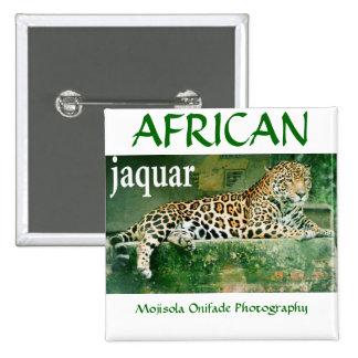 JAQUAR AFRICANO PIN CUADRADO
