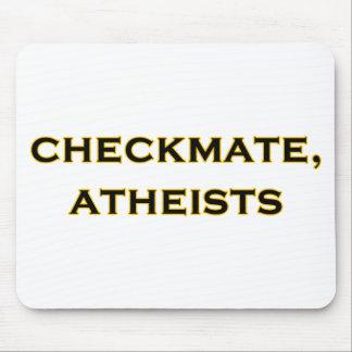 Jaque mate, ateos tapete de raton