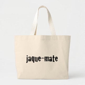 jaque-mate jumbo tote bag