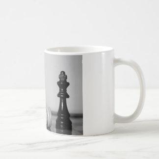 Jaque mate del ajedrez tazas