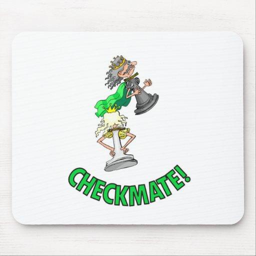 ¡Jaque mate! Pedazos de ajedrez (juego de mesa int Alfombrilla De Ratones
