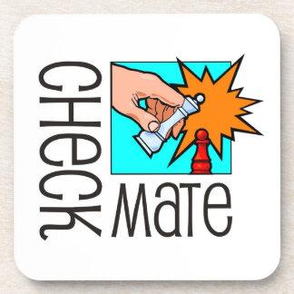 ¡Jaque mate! Pedazos de ajedrez (juego de mesa Posavaso