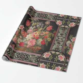 Jaquebloom Floral Wrapping Paper