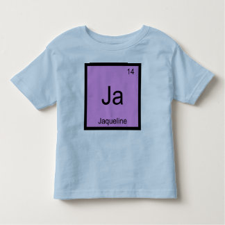 Jaqueline  Name Chemistry Element Periodic Table Shirts