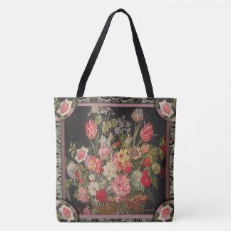 Jaquesbloom Floral Pretty Pattern Tote Bag