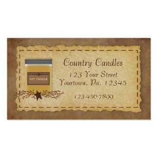 Jar Candle Business Card