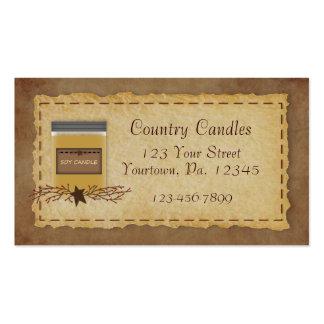 Jar Candle Business Card