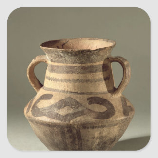 Jar, from Gansu Province, c.1300-700 BC Square Stickers