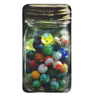 Jar Full of Sunshine and Glass Marbles Galaxy S5 Pouch