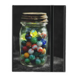 Jar Full of Sunshine and Glass Marbles iPad Cover