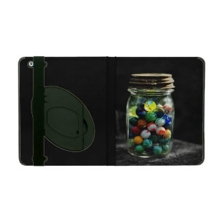 Jar Full of Sunshine and Glass Marbles iPad Folio Cases