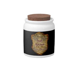 Jar of Deadly Nightshade Candy Jar