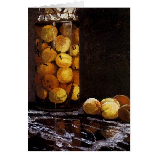 Jar of Peaches Card