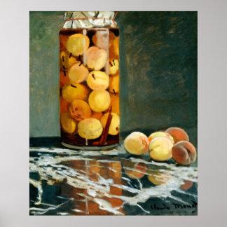 Jar of Peaches - Impressionist Art Poster - Monet