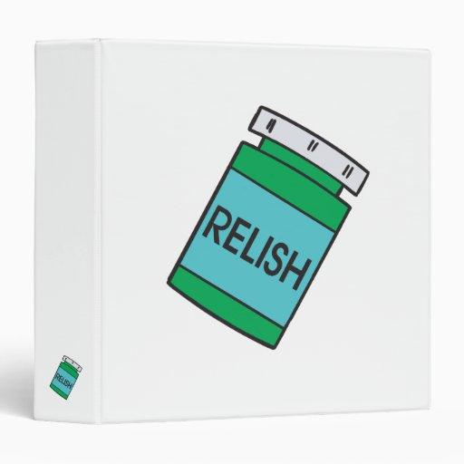 jar of relish binders