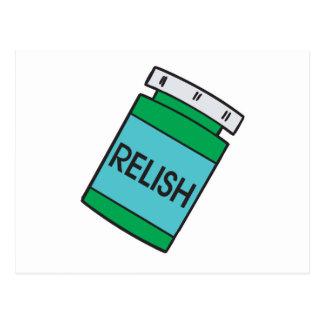 jar of relish postcard