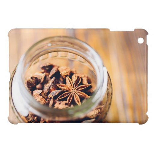 Jar of star anise case for the iPad mini