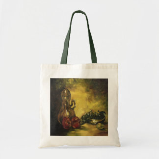 Jar with Fruit Canvas Tote Bag