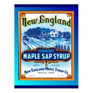 Jarabe de arce de Nueva Inglaterra Vermont Postal