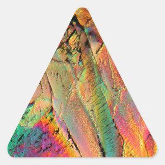 Jarabe de arce pegatina trianguladas personalizadas