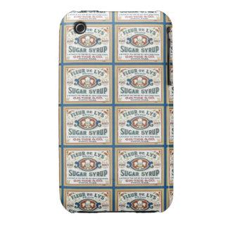Jarabe de azúcar de la flor de lis Case-Mate iPhone 3 carcasa