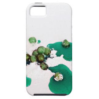 Jarabe escarchado verde de las cerezas en el iPhone 5 Case-Mate protector