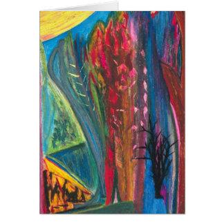 Jardim Botanico or Dreamscape with Spine Card