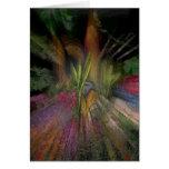 Jardín 2 del arco iris tarjeta
